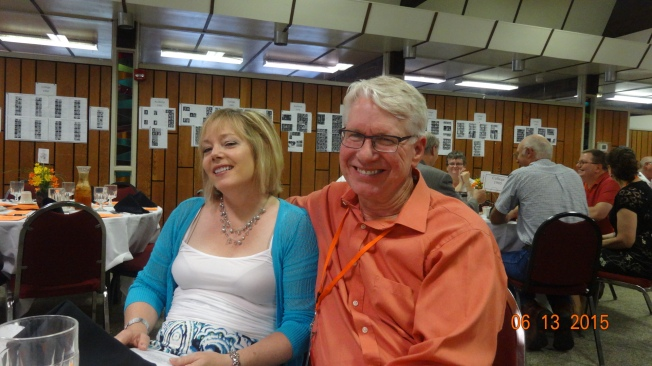 Roger and Cheryl at Saturday night Banquet
