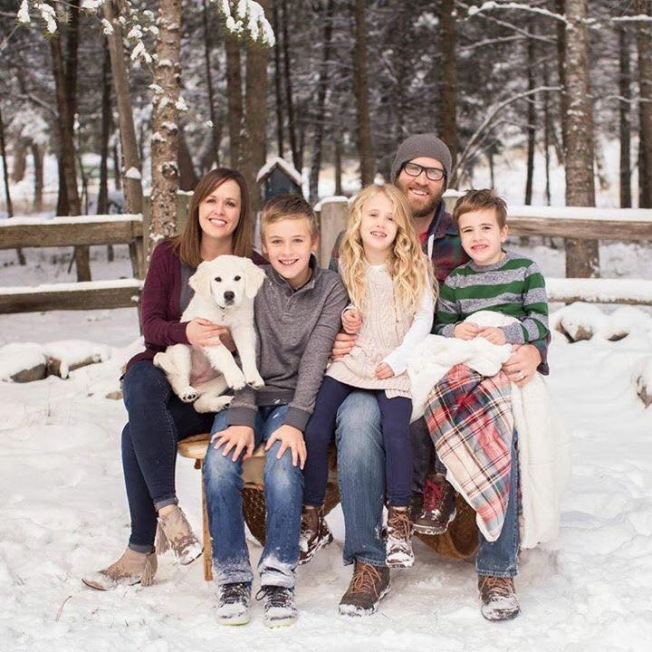 Caleb Meyer Family Dec 2017